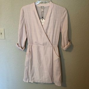 NWT Anthrop.  MO:VINT Blush Pink Dress
